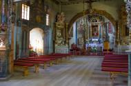 Wnętrze Kościoła w Hannie